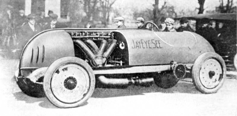 JayEyeSee - Case Team - A Fiat rebuilt by Louis Disbrow who then  joined The CASE Team