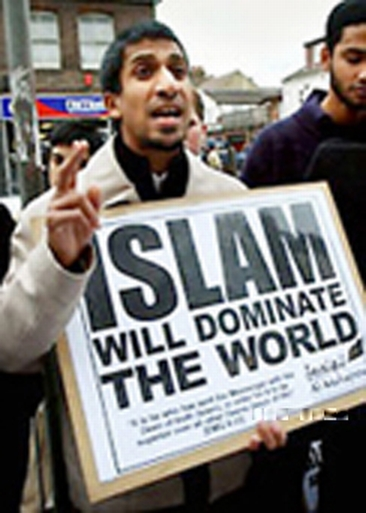 "A MESSAGE FROM THE ""FRIENDLY"" ISLAMIC PEOPLE............ DO YOU EVER WONDER WHY YOU NEVER HEAR ""MODERATE MUSLIMS DECRY THE TERRORISTS??? DO YOU?"