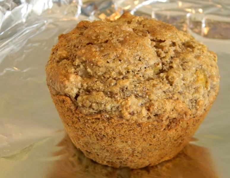 Wheatless Peach - Oatmeal Muffin