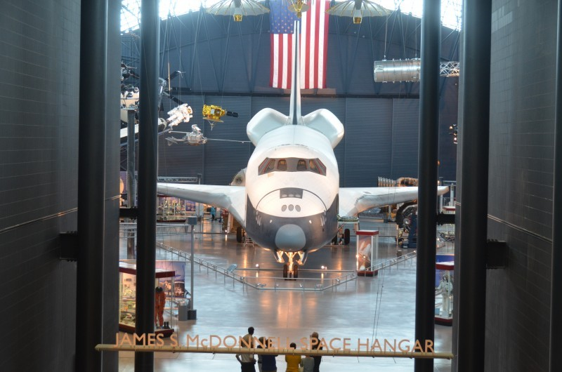 Steven F. Udvar-Hazy Center: Space Shuttle Enterprise in the James McDonnell Space Hangar