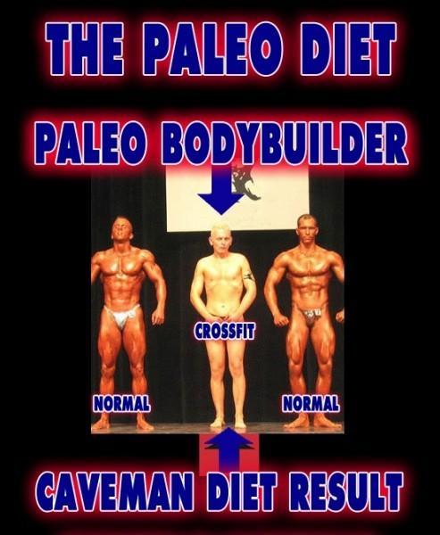 PaleoBodybuilder - PrimalDiet Cross Fit Paleolithic Weight Loss Caveman Gym ProteinPower Bodybuilding Workout -3
