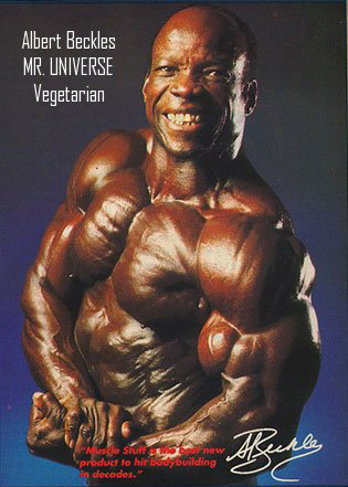 VEGETARIAN BODYBUILDER WINS MASTERS MR. OLYMPIA & MR. UNIVERSE! - Vegan Vegetarian Plant Based Diet Muscle Protein of Albert Beckles