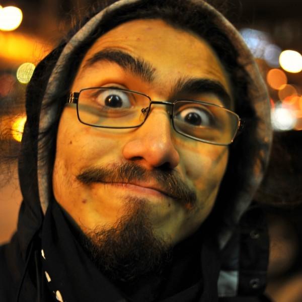 Friday-Love! ~ Bug Eyed Strange Guy Fawkes Edition