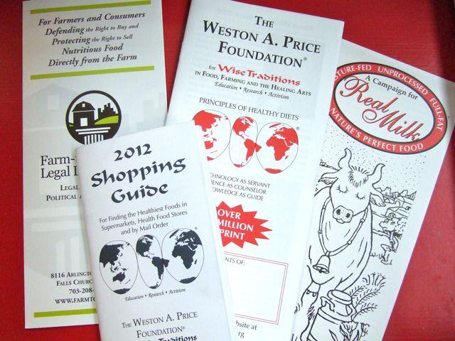 Weston Price Materials