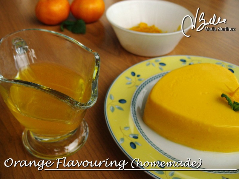 Sugar Free Homemade Orange Flavouring