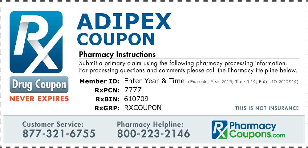 Adipex Coupon Card | Best Diet Solutions Program