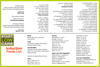 Stillman Diet Food List