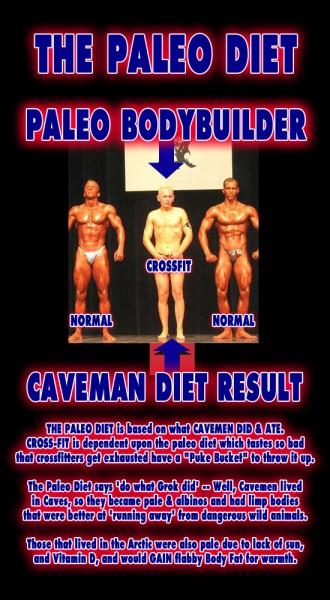 Paleo Bodybuilder - Paleolithic Diet Crossfit Fitness Caveman Primal Inuit Masai Mark Sisson Robb Wolf Freetheanimal Movnat Muscle Protein Info