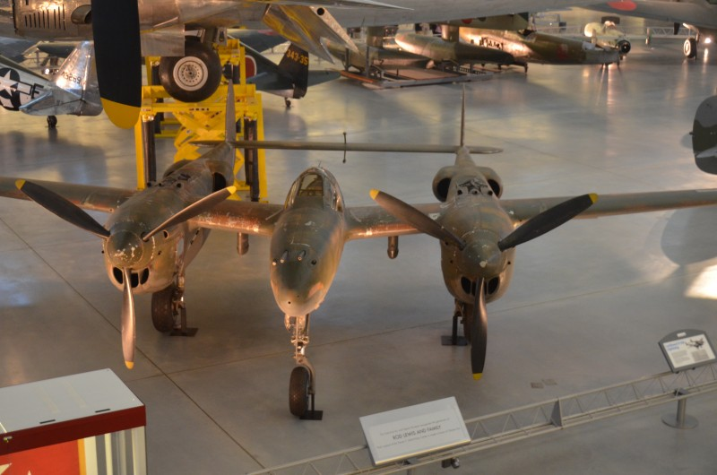 Steven F. Udvar-Hazy Center: Lockheed P-38J-10-LO Lightning
