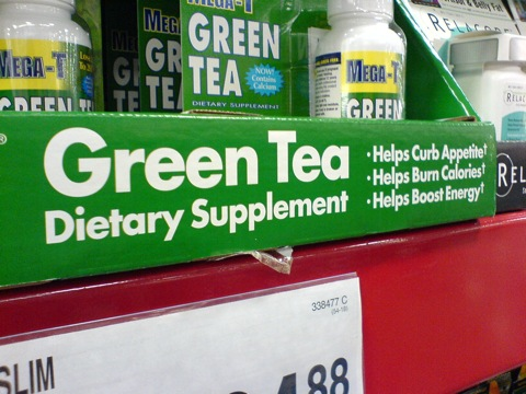 green tea makes you lose weight