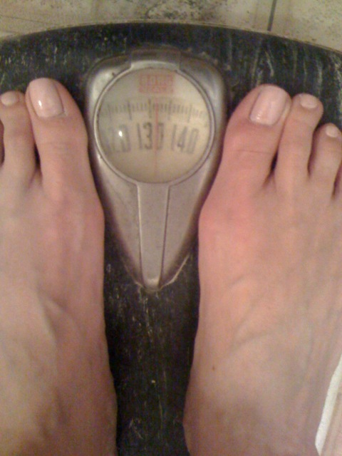 day 6 - 132 lbs