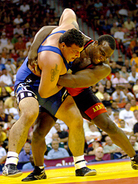 Byers set to wrestle world's best Greco-Roman heavyweights 090831