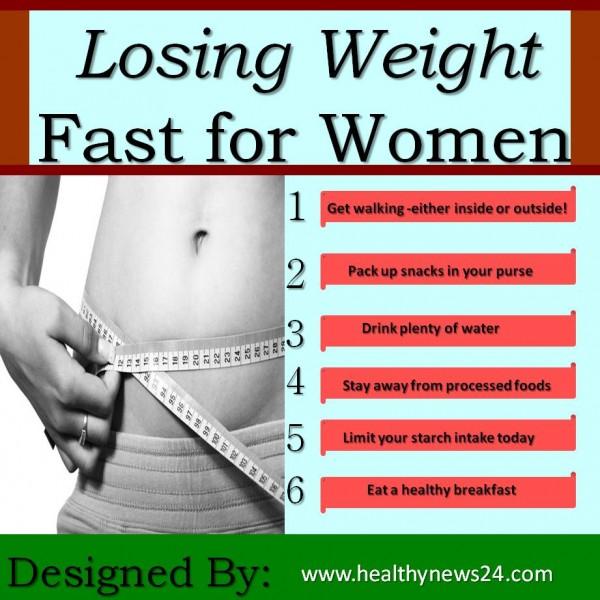 Hvordan å miste vekt.