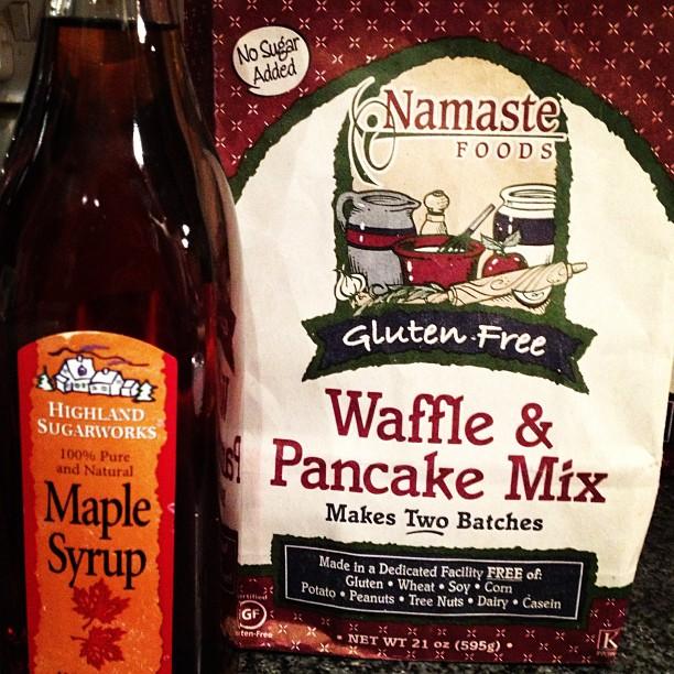 I shall be having #glutenfree pancakes with maple syrup #pancakeday