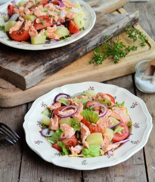 5:2 Diet Salmon Niçoise Salad