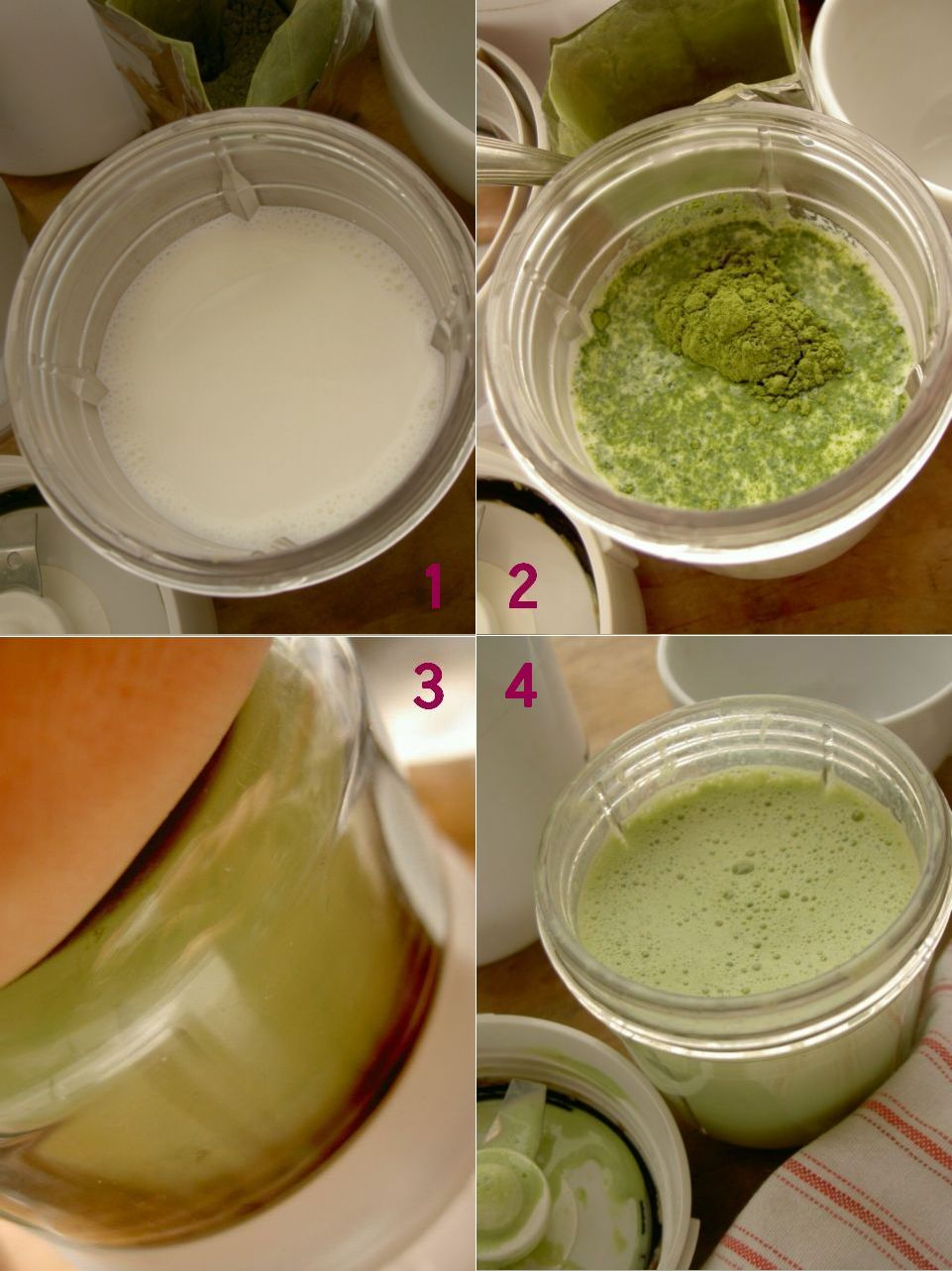 how to matcha latte ?