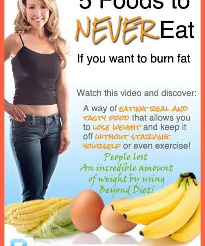 Beyond Diet Program  Foods To Never Eat