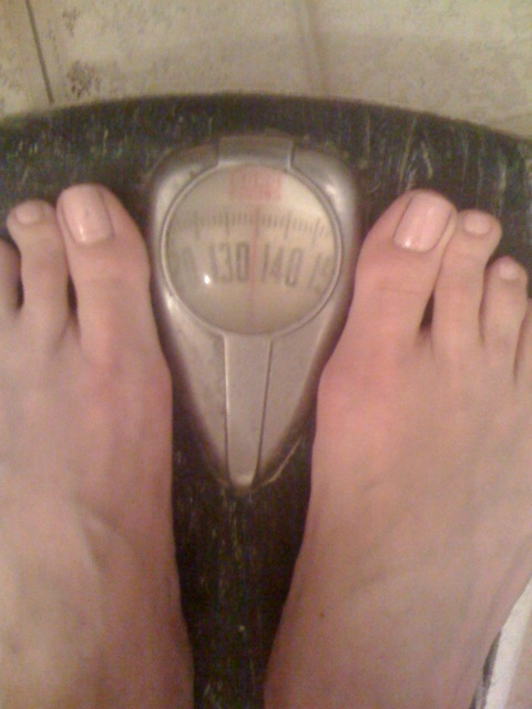 day 1 of 30 - 135 lbs