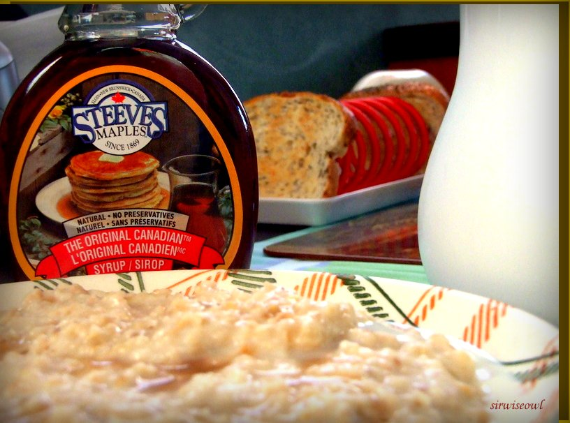 Porridge~~ Breakfast Of The Champions