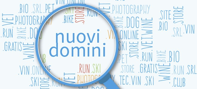Lista dei nuovi domini di primo livello (List of Internet top-level domains)